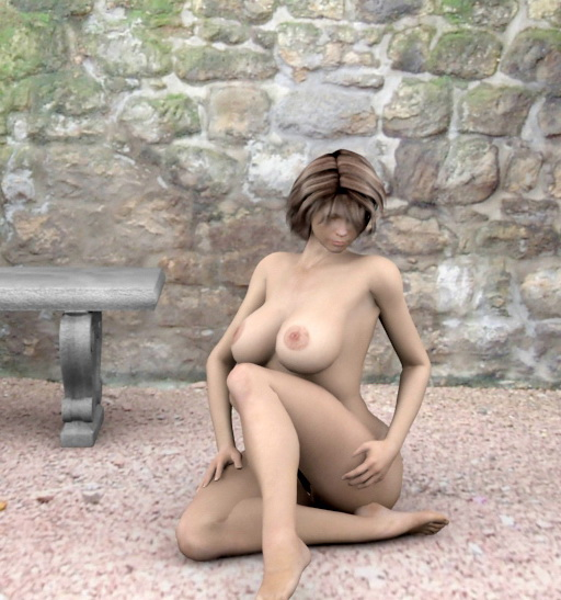Big breasted Emo Girl Heather - 3D Girls Busty Babe 3D