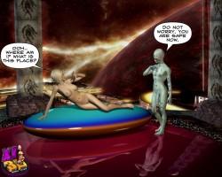 Galactic story - 3d fucking comics - 3D Porn Comics