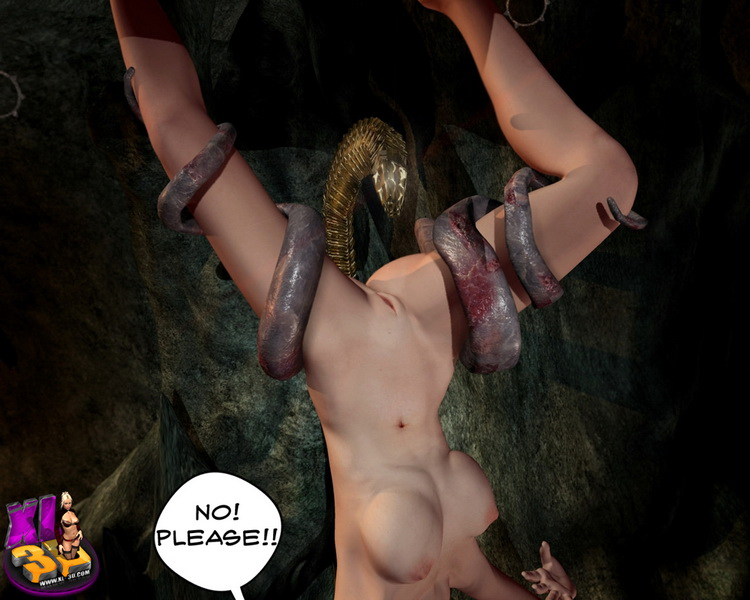 Under the ground - monsters - 3D Monsters Sex 3D Porn Comics