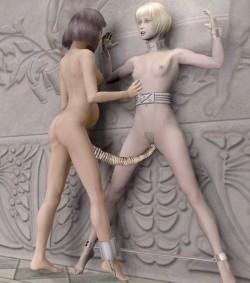 3D monster sex for Halloween - 3D Monsters Sex