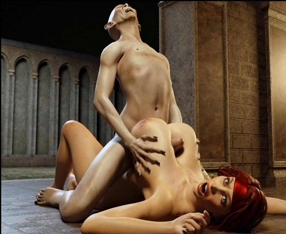 Gollum fucks busty girl hard - 3D Monsters Sex 3D Sex Cartoons