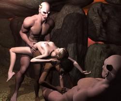 3D alien bondage & Sex with demons - 3D Monsters Sex Groupsex 3D Sex with demon