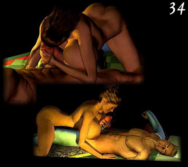 3D Evil in toon imagining - 3D Monsters Sex 3D Sex Cartoons