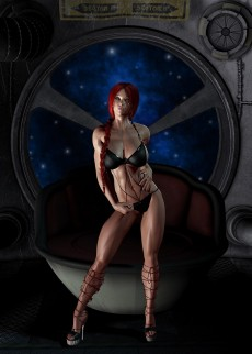 Redhead babe cool sexshow - 3D Girls Busty Babe 3D