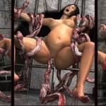 Sex with 3D tentacles - 3D Monsters Sex