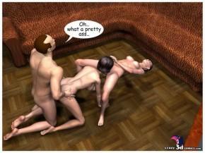 Porn 3D orgy - Groupsex 3D