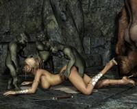 3D Monsters Sex - 3D Evil comics 3D Monsters Sex