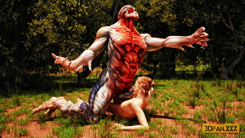 Mutant In The Forest 3D - 3D Monsters Sex Sex with Mutant