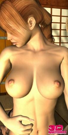 3d slut for he - 3D Porn Comics Redhead blowjob