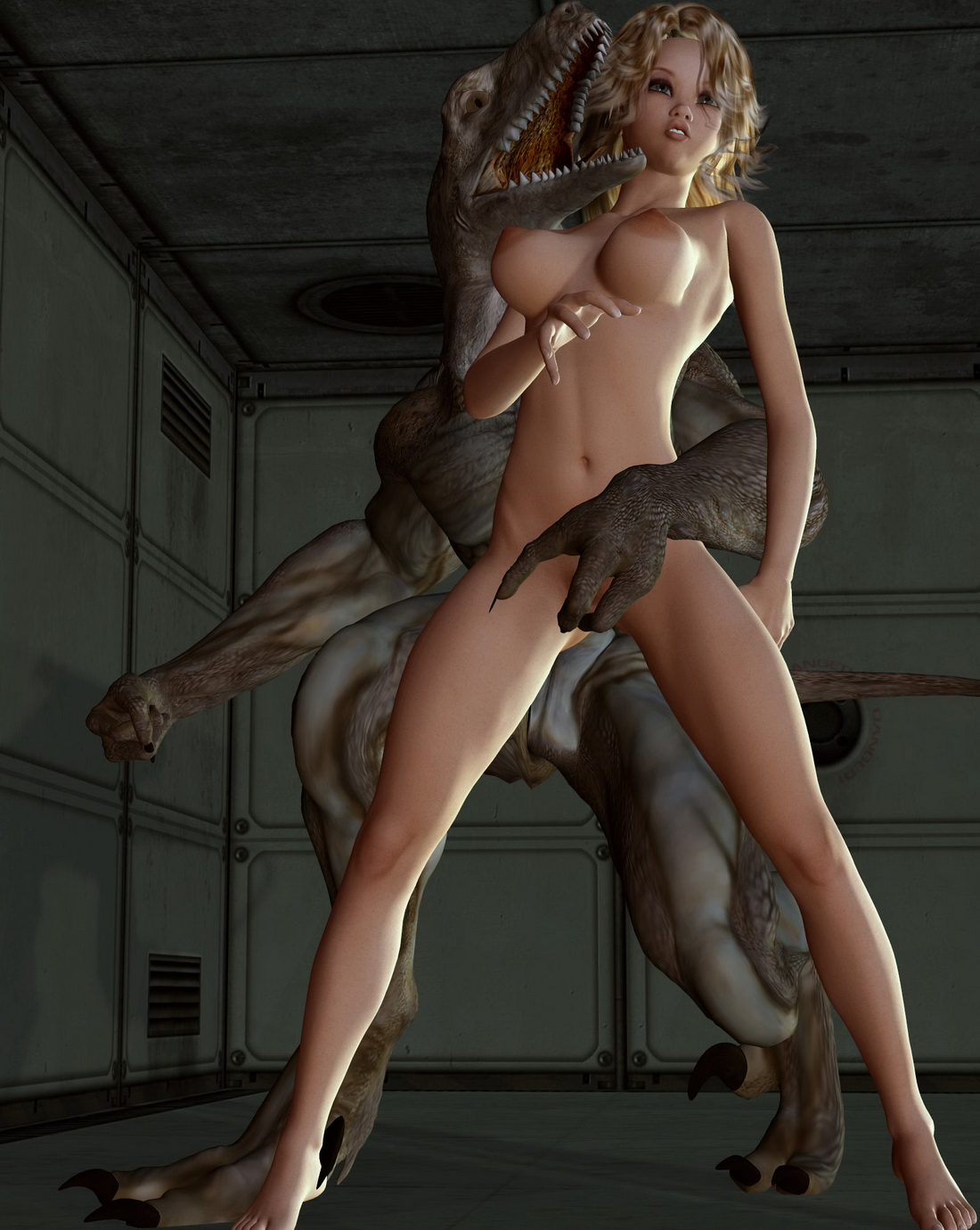 Salope Free 3d hentai monster porn has absolutely