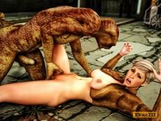 Snake Mutant 3d sex - 3D Monsters Sex