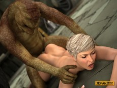Snake Mutant 3d sex - 3D Monsters Sex