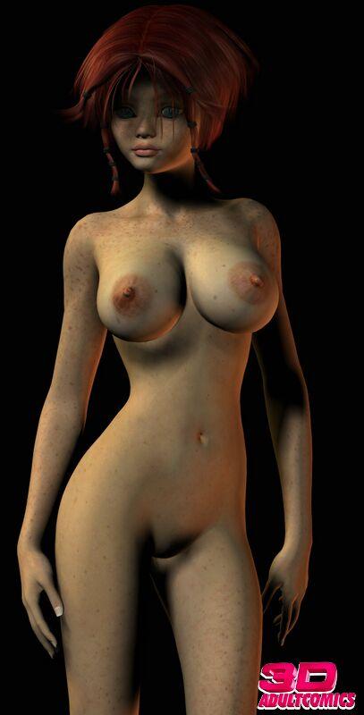 Redhead 3D Misty 01