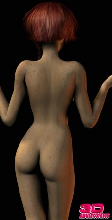 Redhead 3D Misty - 3D Girls Busty Babe 3D Redhead 3D Girl