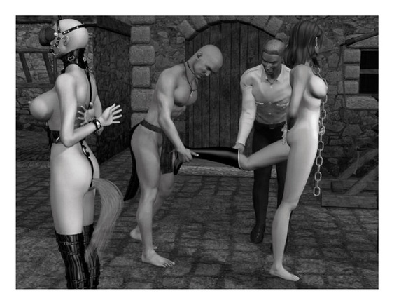 Female cyborg 3d bdsm - 3D Sex Cartoons BDSM 3D