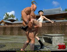 Sexy Sonia fucks Monster - 3D Monsters Sex