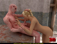 Sex with a zombie - 3D Monsters Sex